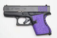 PURPLE GRIP TAPE, FITS 43,,,HANDGUN, GUN, PISTOL, NON SLIP, TARGET PRACTICE