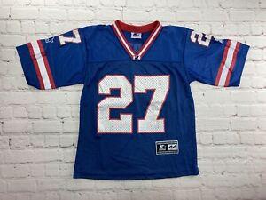RARE Vintage 90s NFL Starter Football Jersey New York Giants Hampton KIDS Small