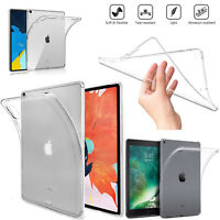 For Apple iPad Generation 2 3rd 4th Slim Gel Soft TPU Silicone Cover Back Case
