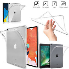 """For Apple iPad 9.7"""" Generation 6th 2018 5th 2017 Slim Gel Silicone Case Cover"""