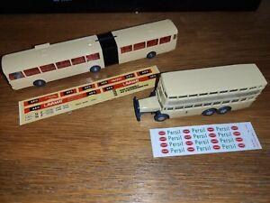 Bus Berlino D E8 Mercedes-Benz O 305 G HO 1/87 Wiking plastico Ferroviario