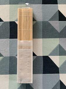 da Vinci Bambusmatte mit Baumwolltasche für Pinsel
