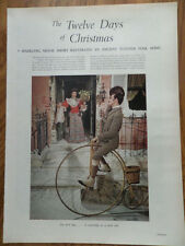 1955 Movie Photo Article Ad 12 Days of Christmas Movie Short Illustrated