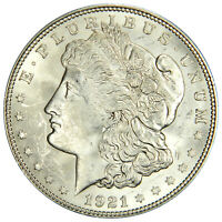 1921-D MORGAN DOLLAR ~ CHOICE BU UNCIRCULATED ~ PRICED RIGHT  (INV#524H)