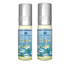 2 Jasmine By Al Rehab  6ml Bottles Best Seller Perfume/oil/Attar