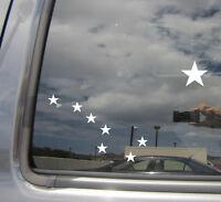 Big Dipper Star - Alaska Car Auto Window High Quality Vinyl Decal Sticker 10008