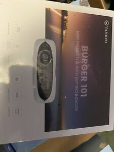 VANKYO Burger 101 Pico Projector, Rechargeable DLP Wireless Mini Projector New