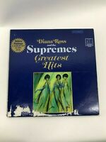 Vintage Motown Diana Ross and the Supremes Greatest Hits Vinyl Music 2 Album Set