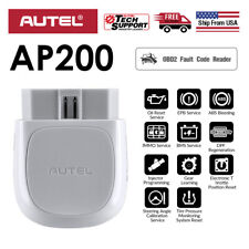 Autel AP200 Bluetooth Code Reader OBD2 Car All System Diagnostic Scanner AutoVIN