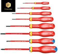 Facom ATD.J8VE Protwist® 1000V Insulated Slotted & Pozi Screwdriver Set