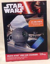 Thinkgeek Star Wars Star Wars Estrella De La Muerte USB cargador de coche 2x puertos USB 2015