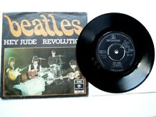 THE BEATLES ' HEY JUDE ' UK PARLOPHONE  EXPORT 7 INCH WITH ULTRA RARE P/S EX !