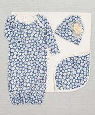 New Truffles Ruffles Floral Bunting Gown Sleep Sack + Hat 0-3 Months + Blanket