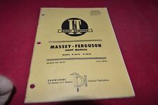Massey Ferguson 175 180 Tractor I&T Shop Manual SMPA