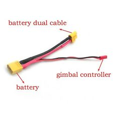 New XT60 & JST Battery Connector Plug Adapter Cable for DJI Quadcopter Gimbal F