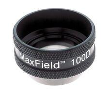 Ocular Maxfield 100d Slit Lamp Lens Black Oi 100m