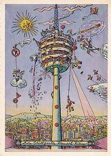 Der Stuttgarter Fernseh-Turm Unknown Postcard used VGC