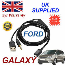 Para Ford Ka Samsung HTC & LG Sony Nokia Micro Usb Y 3.5 Mm Aux Audio Cable Negro