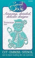 sweet dixie dies - snowman - sdd004