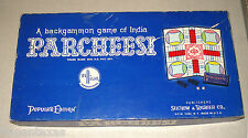 Vintage Parcheesi Game Selchow and Righter Co. 1959