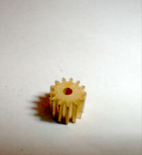 Cox Brass Pinion Gear 12 Tooth 48 Pitch .078 shaft Medium 1/24 slot car Nos