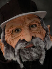 Street Wise Bum Funny Old Man Latex Mask with Moving Mouth Adult Halloween Mask