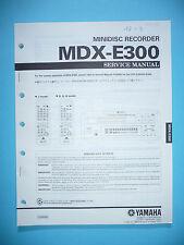 Service Manual für Yamaha MDX-E300  ,ORIGINAL