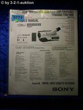 Sony Service Manual DCR TRV120 TRV120E TRV120P TRV125E TR8000E TR8100E (#5771)