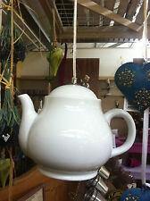 Lampe Porzellan Teekanne Küche Tea  Deckenlampe Deckenleuchte E 14 Glasur Weiß