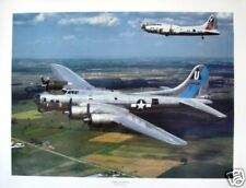 Flying Fortress /Boeing B-17G/WWII Bomber-Fighter Plane
