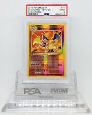 Pokemon XY EVOLUTIONS CHARIZARD 11/108 REVERSE HOLO CARD PSA 9 MINT #28660014