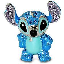 Disney Parks Stitch Figurine by Arribas Swarovski Jeweled Mini New with Box