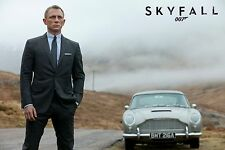 James Bond poster Length :800 mm Height: 500 mm  SKU: 1726