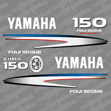 Yamaha 150 four stroke outboard (2002-2006) decal aufkleber addesivo sticker set