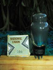 NU National Union USA 2B6 multi-system internal coupling output tube NIB NOS