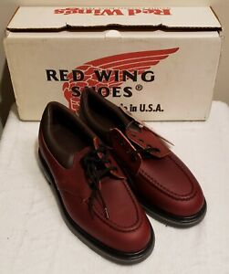 Red Wing 105 Men's Work Oxford Burgundy, Elect Hazard, Size 14 B Made in USA