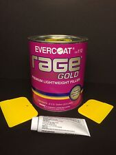 EVERCOAT RAGE GOLD 112 PREMIUM LIGHTWEIGHT BODY FILLER + HARDENER & SPREADERS