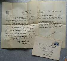 1931 Letter from Kazui Moni International Correspondence Club Tokyo to Boston Ma