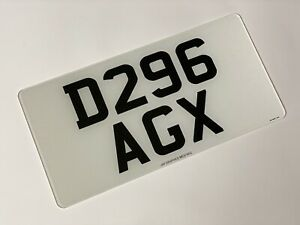 Front 13 X 6.5 road legal Japanese Import Number Plate 100% MOT Compliant