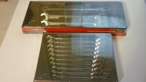 New Sealed Snap On 13 Piece Metric Ratcheting Wrench Set, Sizes 10 to 24 mm