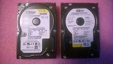 1 lot of 2 Western Digital WD800JD 80GB 7200rpm SATA HD