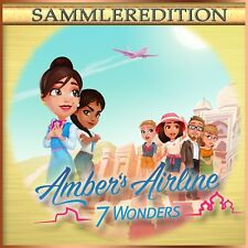 ⭐️ Amber's Airline 2 - 7 Wonders - Platinum Edition - PC / Windows ⭐️