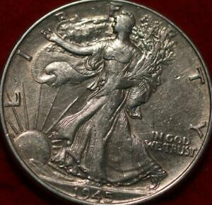 1945 Philadelphia Mint Silver Walking Liberty Half