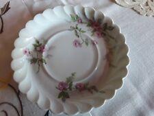 Untertasse rosa Rose Limoges France Haviland
