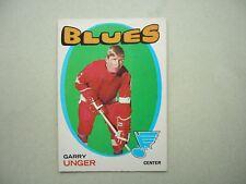 1971/72 O-PEE-CHEE NHL HOCKEY CARD #26 GARRY UNGER EX/NM SHARP!! 71/72 OPC