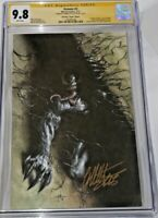 VENOM #2 CGC SS 9.8 Signed GABRIELE DELL'OTTO - VIRGIN VARIANT COVER