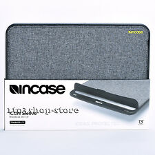 "Incase ICON TENSAERLITE Sleeve Pouch Case for MacBook Air 13"" Heather Gray/Black"