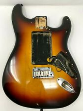 Vintage Fender American Stratocaster Sunburst Body+ Hardware USA 1990