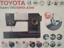 Toyota Nähmaschine Super Jeans J15 EU