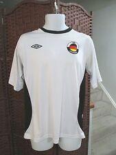 Umbro Germany Soccer Jersey White Men's medium Football Worl Cup